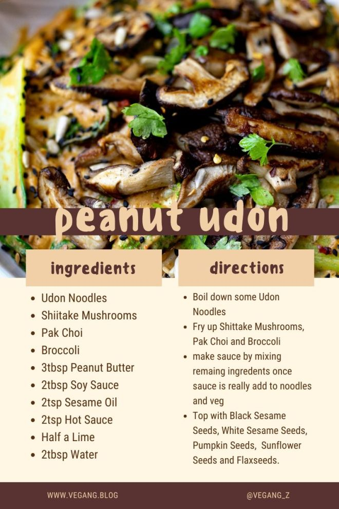 peanut udon